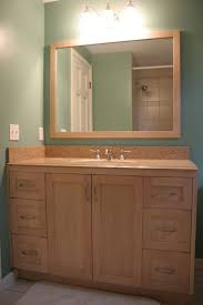 bathroom quot mission linen: i like the maple colour cabinet also need linen cabinet not sure about counter