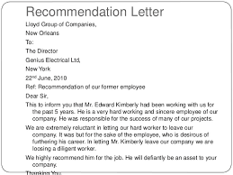 Neutral Letter Of Recommendation - Kleo.beachfix.co