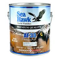Seahawk Af33 Antifouling Bottom Paint 3300 Series Black Gallon