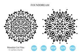 Free unicorn mandala svg, png, eps & dxf by caluya design. Split Mandala Graphic By Foundream Creative Fabrica