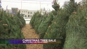 West Elmira Fire Department Christmas tree sale