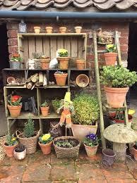 vintage garden ideas we wooden