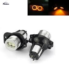 2007 Bmw 328i Halo Light Bulb Us 13 87 25 Off 2pcs Yellow Led Angel Eye Halo Ring Bulb For Bmw E90 E91 325i 328i 330i 335i In Car Light Assembly From Automobiles Motorcycles On