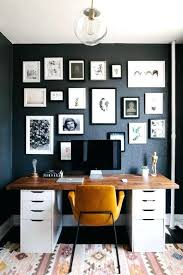 paint ideas for home office. Home Office Paint Ideas Small Space Design With Black Walls Decorative Painting Decor . For P