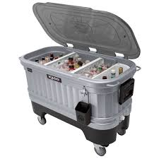 Igloo Ice Chest With Led Lights Party Bar Liddup 125 Qt Cooler
