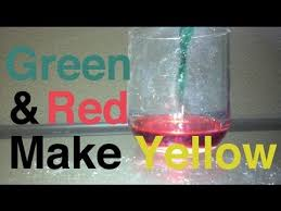 Green and Red make Yellow