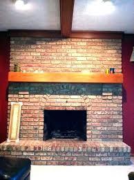brick fireplace mantel decor brick fireplace decor charming