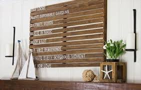 pallet ideas for walls. pallet wall decor great for interior home with ideas walls