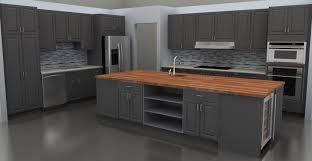 Kitchen Cabinets Refrigerator Best Kitchen With Small Bar And Refrigerator Also Gray Kitchen