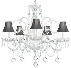 clip on chandelier shades australia crystal trimmed with traditional home design mini chandelier shades canada indoor 4 light