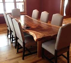 3 tree dining room table from slab for 6 large dining table