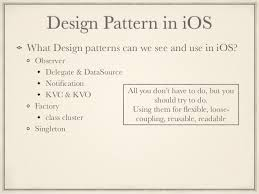 Ios Design Patterns Cool Design Patterns In IOS