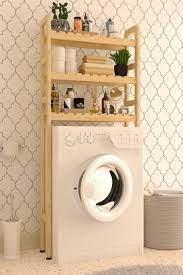 Ahşap Çamaşır Makinesi Üstü Düzenleyici Raf Banyo Çamaşır Makinesi Dolabı  WDN630 Fiyatı ve Özellikleri - GittiGidiyor