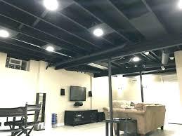 Basement Lighting Design New Decoration