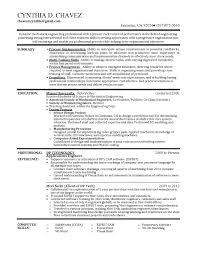 Resume Sample For Licensed Mechanical Engineer Fresh Download