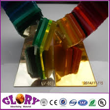 pmma acrylic mirror sheet for laser carving and wall decoration