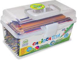 <b>Carioca</b> Набор <b>цветных карандашей</b> Tita 120 шт — купить в ...