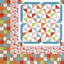 26 best BROKEN DISHES QUILT images on Pinterest   Projects ... & Broken Dishes Quilt in Fall Colors - free pattern Adamdwight.com