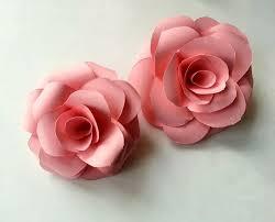 Folding Paper Flower Diy Paper Rose Diy Paper Rose And Tutorials