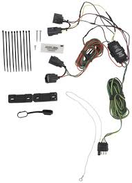 hopkins custom tail light wiring kit for towed vehicles hopkins tow ve tow bar wiring harness hm56200 tail light mount hopkins plugs into vehicle wiring