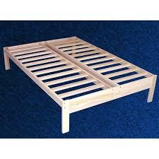 unfinished bed frame. Modren Bed Full Size Unfinished Wood Platform Bed Frame With Wooden Slats On A