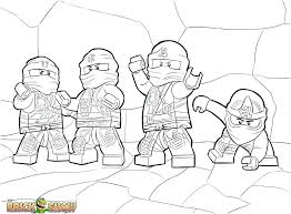 Ninjago Printable Coloring Pages Coloring Pages Ninjago Pic Page