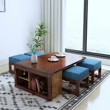 designer coffee table at