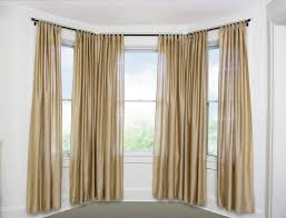 nice curved window curtain rod