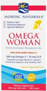 Nordic Naturals Nordic Naturals, <b>Omega Woman, With</b> Evening ...