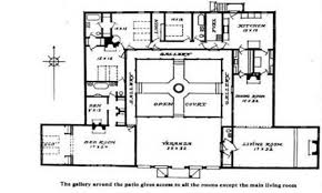 spanish house plans with inner courtyard 15 hacienda style small lrg dbcef pics portray