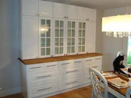 dining room storage cabinets. Dining Storage Cabinet Room Using Kitchen Cabinets And Oak Butcher Block Counter Target Home
