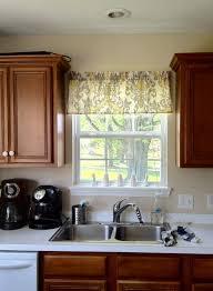 Kitchen Window Coverings Interior Kitchen Valances For Windows Valance Window Treatments