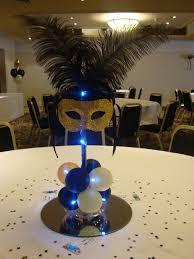 Masquerade Ball Table Decoration Ideas