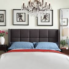 INSPIRE Q Parker Linen Nailhead Wingback Panel Upholstered Queen-sized  Headboard by iNSPIRE Q. Headboard IdeasUpholstered HeadboardsLinens