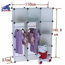 details about 4 layers pp shelves closet storage organizer space saver clothes shoe rack sc12a