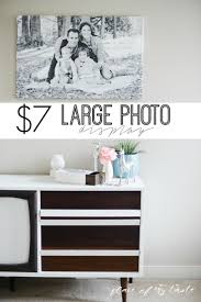 PHOTO DISPLAY for large wall surfaces in your home