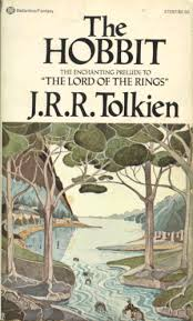 the hobbit loved it the moment i started reading it as a child this is the cover of the book i read at age 11
