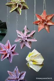 Plissee Sterne Handmade Kultur