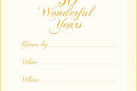 54 Free Printable 50th Wedding Anniversary Invitation