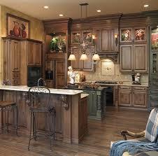 dark rustic cabinets. 34 Gorgeous Kitchen Cabinets For An Elegant Interior Decor Part 1- Wooden Doors (16 Dark Rustic C