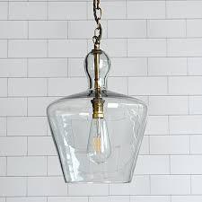 blown glass pendant light stupefy clear lights a er s guide interior design 33