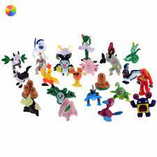 Set 24 Mô Hình Nhân Vật Trong Phim Hoạt Hình Pokemon tốt giá rẻ