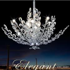 contemporary crystal pendant lighting. modern crystal chandelier lamp living room dining pendant lights fashion design lighting fixture 110v 240v pl256 wrought iron blown glass contemporary