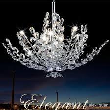 modern crystal chandelier lamp living room dining room pendant lights fashion design lighting fixture 110v 240v pl256 wrought iron chandelier blown glass