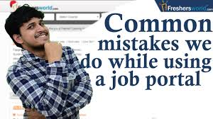 common mistakes to avoid while searching jobs online ii job common mistakes to avoid while searching jobs online ii job portals consultancies