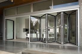 glass wall systems folding glass doors