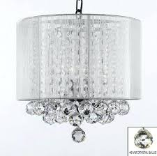 chandelier with white shade crystal large x black and check shades chandelier with white shade global market medusa lighting