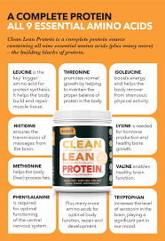 Clean Lean Protein Smooth Vanilla 500g Nuzest