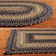 8x10 braided rug luxury ihf home decor ebony braided rug area rectangle oval heart