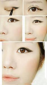 monolid makeup on asian eyes straight eyebrows and eye makeup makeup monolid how to make
